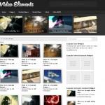 Видеошаблон VideoElements